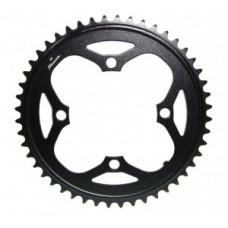 Chain ring eBike f.Bosch motor Gen1 - 2014, fekete, 48 fog, alu, S-Pedelec