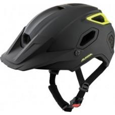 Helmet Alpina Comox - black-neon matt size 52-57cm