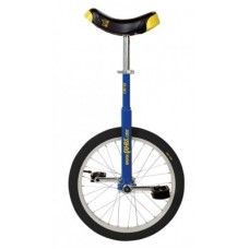 """Unicycle QU-AX Luxus 18"""" blue - ötvözött kerék, gumiabroncs fekete"""