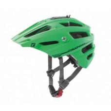 Helmet Cratoni AllTrack (MTB) - size S/M (54-58cm) green/black rubber