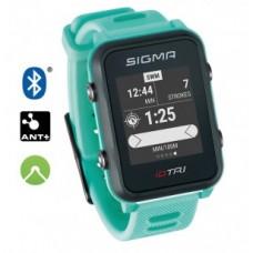 Sport watch Sigma ID Tri Basic - neon mint