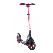 Scooter Six Degrees aluminium RS - red/black 230mm & 205mm