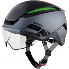 Helmet Alpina Altona M - charcoal/anthracite size 57-62cm