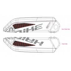 Decor eBike Xduro f. battery casing - 2018 HB-S08 red f. S-Pedelecs BOSCH
