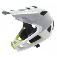 Helmet Cratoni Interceptor 2.0 - size S/M (54-58cm) white matt