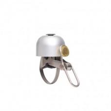Design mini bell Brave Clasics - brushed silver