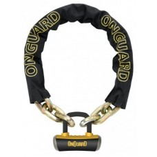 Onguard chain w. U-lock - Szörnyeteg 8016 110 cmx 14 mm