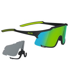 Szemüveg KELLYS DICE PHOTOCHROMIC, Shiny Black-Lime