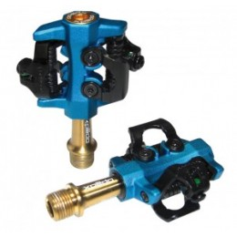 "Pedal Xpedo Clipless CXR Ti - kék / arany 9/16 ""XMF-10AT"