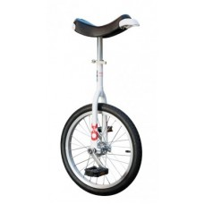 "Unicycle OnlyOne 18"" white - Alu rim, gumik blk"