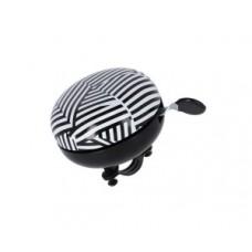 XLC bell Mingun DD-M09 - stripes Ø83mm black/white