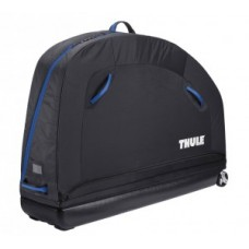 Bike transport bag Thule Round TripPro - Pack 'n Pedál fekete beépítési állvánnyal