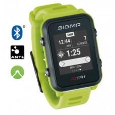 Sport watch Sigma ID Tri Basic - neon green