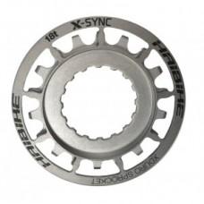 Sprocket eBike f.Bosch XDURO 18t - rozsdamentes ezüst, Gen2 2014