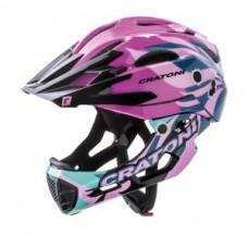 Helmet Cratoni C-Maniac Pro (MTB) - size S/M (52-56cm) pink gloss