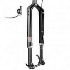 "Sus.fork RockShox RS1 ACS 100mm - 27,5 ""bl, tap.c., SA, Predic. Steer., XLocRR"