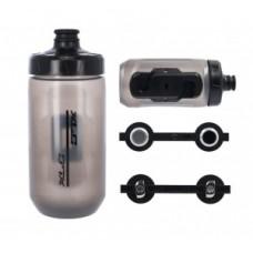 XLC MRS bottle set MR-S05 - 450ml transparent incl Fidlock adapter