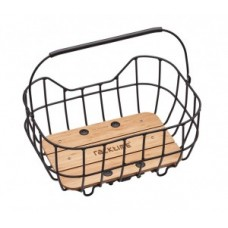 System basket Racktime Baskit Breeze 22l - 47x33x24cm black incl. SnapIt adapter