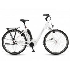 "WINORA Tria N7F monotube 400 Wh elektromos kerékpár | 2020 | 28"" - 54 cm - fehér"