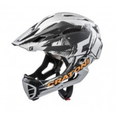 Helmet Cratoni C-Maniac Pro (MTB) - size M/L (54-58cm) chrome/matt
