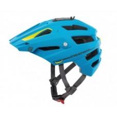 Bicycle Helmet Cratoni AllTrack (MTB) - S / M méret (54-58 cm) kék / mész gumi