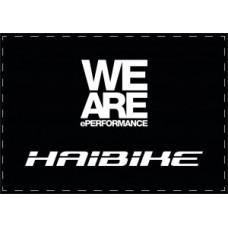 Haibike carpet 85x120cm - black/white