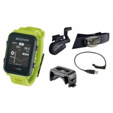 Sport watch Sigma ID Tri Set - neon green