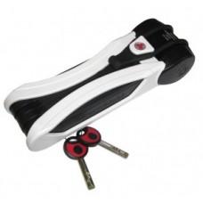 Folding lock Trelock Toro w. plas.holder - FS 500/90, fehér