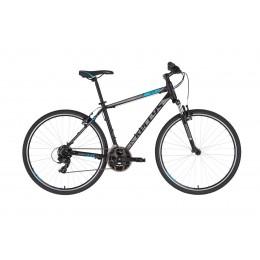 """KELLYS Cliff 10 cross trekking kerékpár   2020   28"""" - L (53 cm) - fekete/kék"""