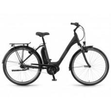 "WINORA Sima N7f monotube 400 Wh elektromos kerékpár | 2018 | 28"" - XS (46 cm) - fekete"