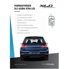 XLC poster for rear rack display - 84x60 3400010210 Azura LED
