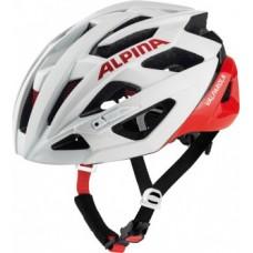 Helmet Alpina Valparola - white/red size 58-63cm