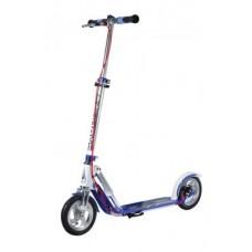 "City Scooter Big Wheel Air DB Hud.Alu 8"" - Air205 Dual Brake white/blue 205mm"