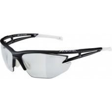 Sunglasses Alpina Eye-5 HR VL+ - fekete matt / fehér üveg fekete fogpiszkáló