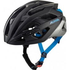 Helmet Alpina Valparola - black/silver/blue size 58-63cm