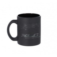 XLC cups pack of 6 - black 0.25l glass