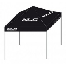 Tent XLC w/o side walls - black 3 x 3 m with transport bag