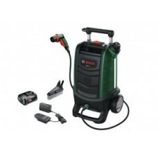 Batt.outdoor cleaner BOSCH Fontus II - 18V 2.5Ah 15l 20bar incl. battery