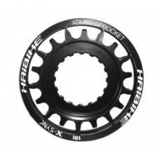 Sprocket eBike f.Bosch Xduro 18Z - black 18 teeth for Plus-Bike Bosch