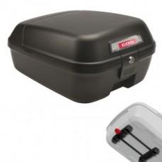 City box KLICKfix - fekete 25x35x18 cm w. Racktime adapter