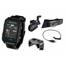 Sport watch Sigma ID Tri Set - black