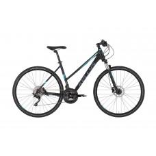 """KELLYS Pheebe 90 női cross kerékpár   2020   28"""" - S (43 cm) - fekete"""