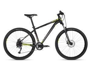 KELLYS Spider 30 Black 27.5 XS férfi MTB kerékpár 2018