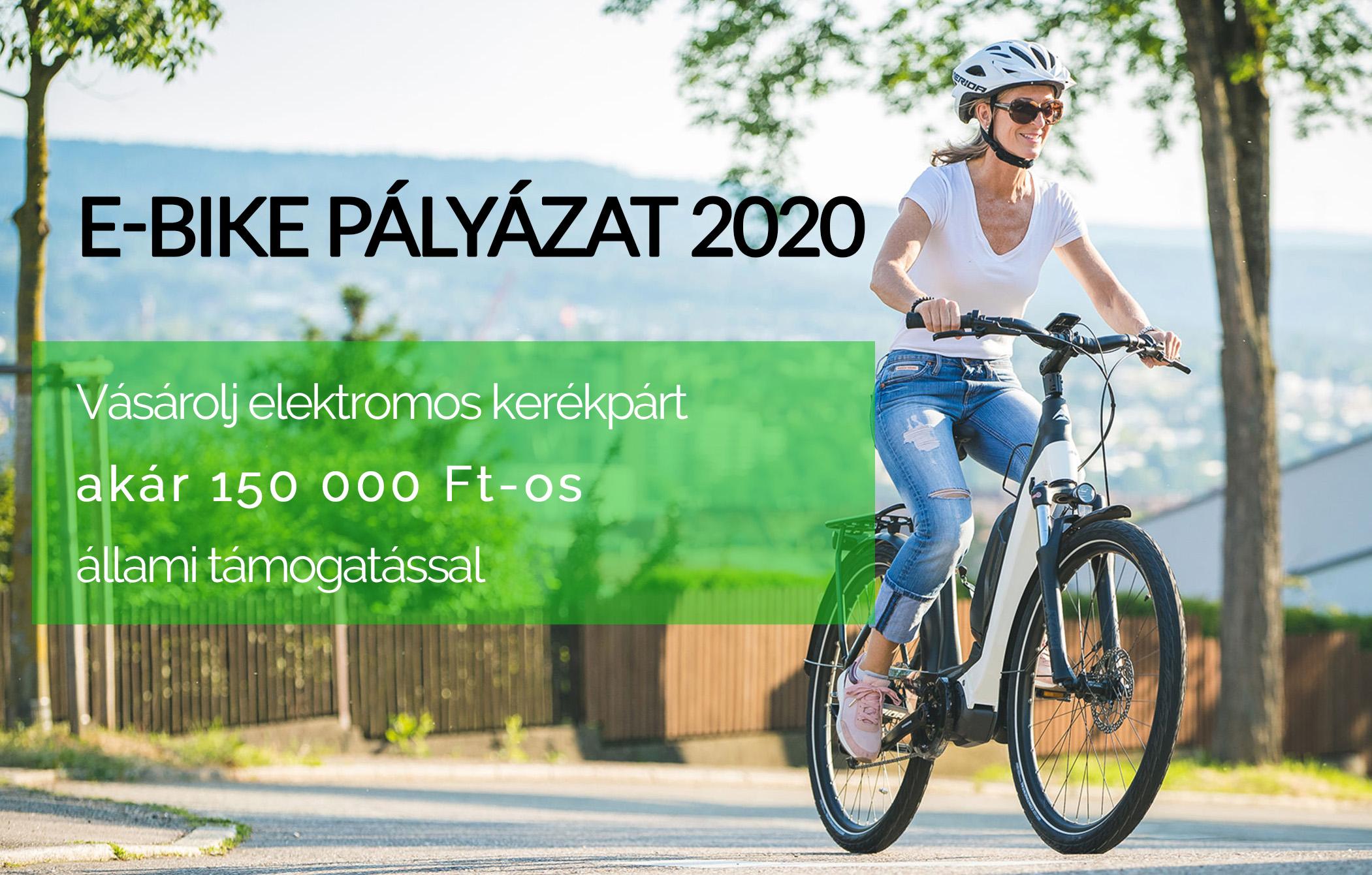 E-bike Pályázat 2020