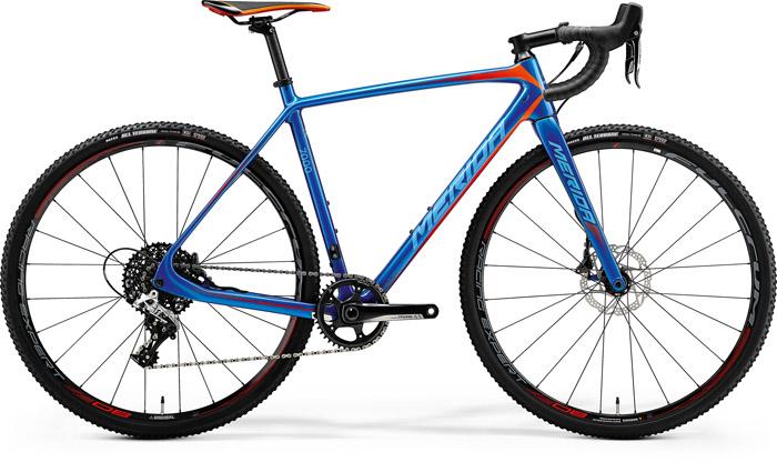 "MERIDA CYCLO CROSS 7000 cross kerékpár   2018   28"" - M (54 cm) - kék"