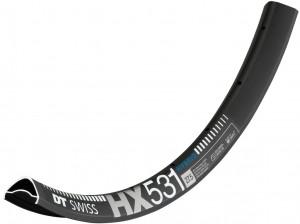 """Rim DT Swiss HX 531 29""""/30mm black - 622-30 VL 6,5 mm 28 lyuk"""