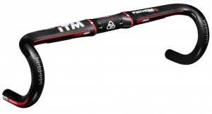 Racing handlebar ITM Phantom Carbon if - Ø31,8 mm, 380 mm, blk. Carbon, Kab.Innenf.