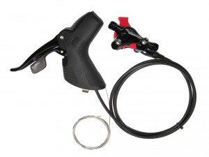 Shift brake lever Sram 700 10 speed - R, hidr. tárcsafék, hátsó, 1800mm