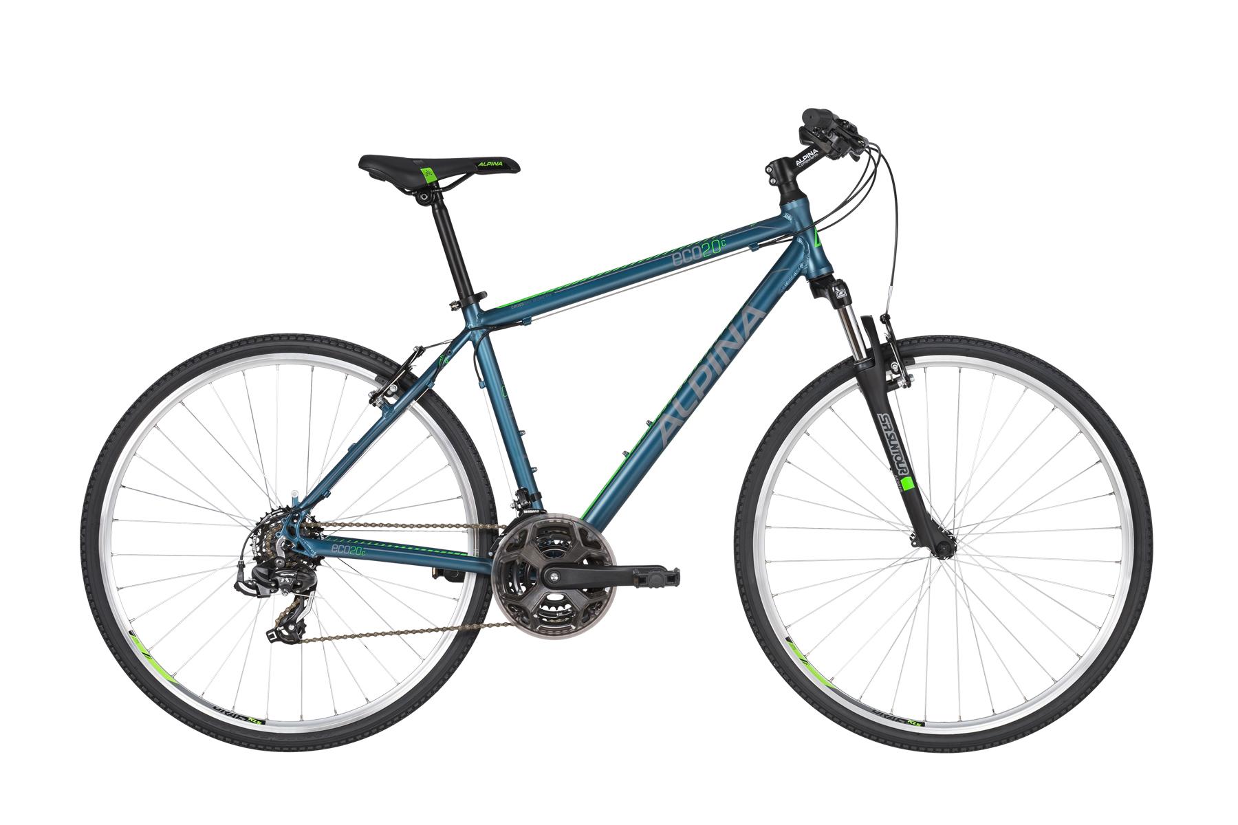 "ALPINA Eco C20 férfi cross trekking kerékpár | 2020 | 28"" - S (43 cm) - kék"