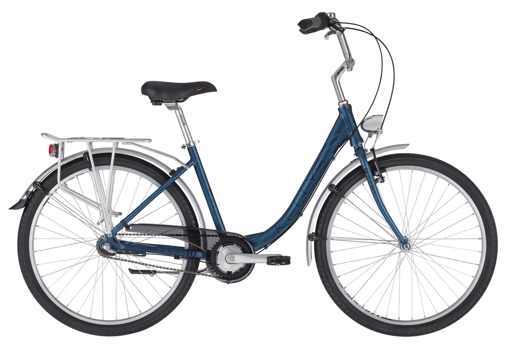 """KELLYS Avenue 10 női városi kerékpár   2020   26"""" - 43 cm - kék"""